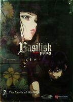 Basilisk 2 The Spoils Of War 4 Episodes Plus Extras Gonzo/funimation Dvd Sealed
