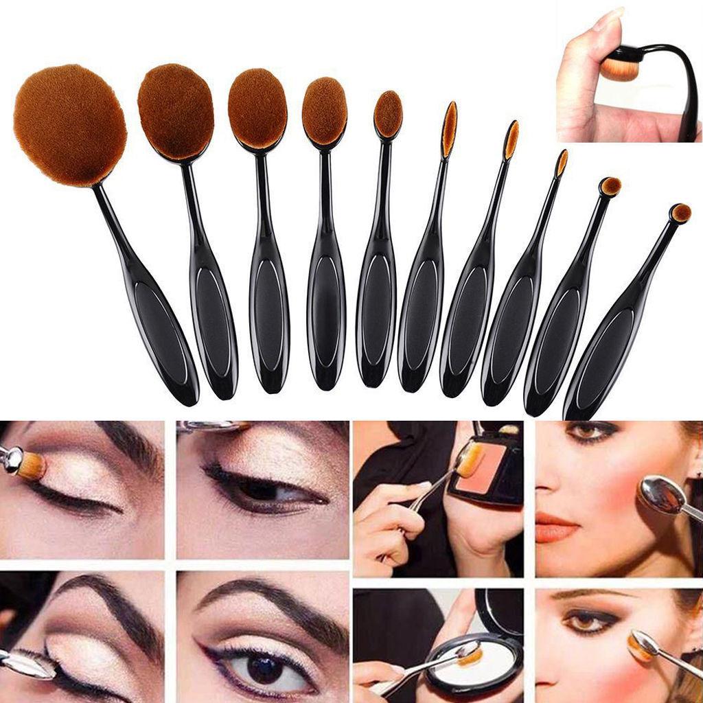 Eye makeup brush set mac