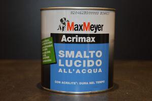 Smalto-Acrilico-Lucido-All-039-acqua-Interno-Esterno-Ferro-e-Legno-Acrimax-0-75Ml