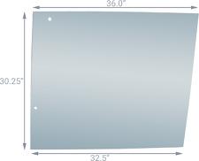 Glass L57980 Fits John Deere 2355 2555 2755 2955 3055 3155 3255