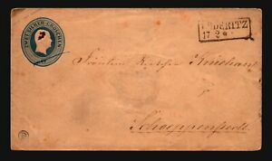 Germany-Early-2g-Stationery-Cover-Used-Z16903