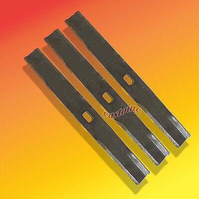 "3 Lawnmower Blades Fits Yazoo 206-660 Lesco 050595 60"" Right Hand Cut"