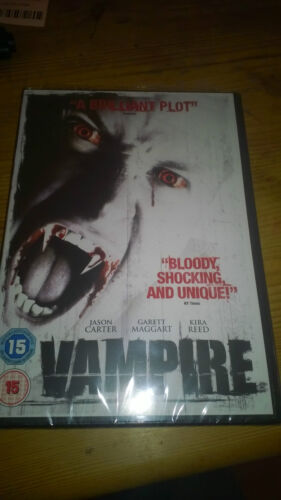 1 of 1 - VAMPIRE AKA Demon Under Glass  Cult Horror  DVD New & Sealed