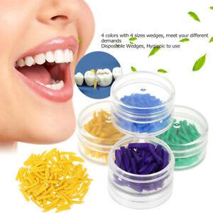 1Pack-Dental-Filling-Tool-Dental-Disposable-Diastema-Wedges-Plastic-Wedge-4Color