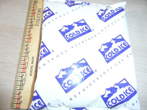 oz Lot of 12 COLD ICE Reusable Ice Gel Refrigerant Packs Cooler ice packs 16
