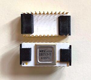 NEC-D8253-5-16bit-Counter-golden-Pins-white-Ceramic-Vintage