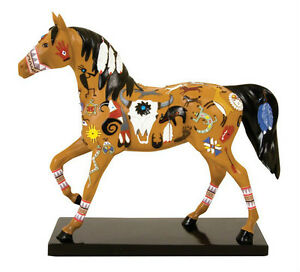 Trail-of-Painted-Ponies-WIE-TOU-PONY-FIGURINE-New-in-Box-Westland-Giftware