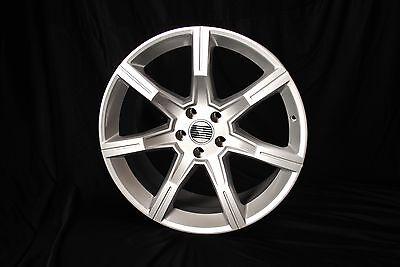 "Mustang Speed Star 20"" Silver Wheel Set 2005+"