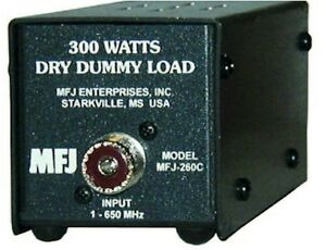 MFJ-260C-Dummy-Load-300-Watts-0-150-MHZ-Dry-Air-Cooled-NEW