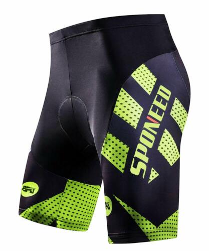 Bike Cycling Shorts Men/'s Pro Bike 1//2 Pants with 4D Gel Padded Cycling Clothing