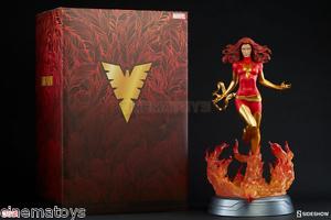 Marvel X-men Jean Grey Dark Phoenix Fenice Premium Format Figure Sideshow Statue