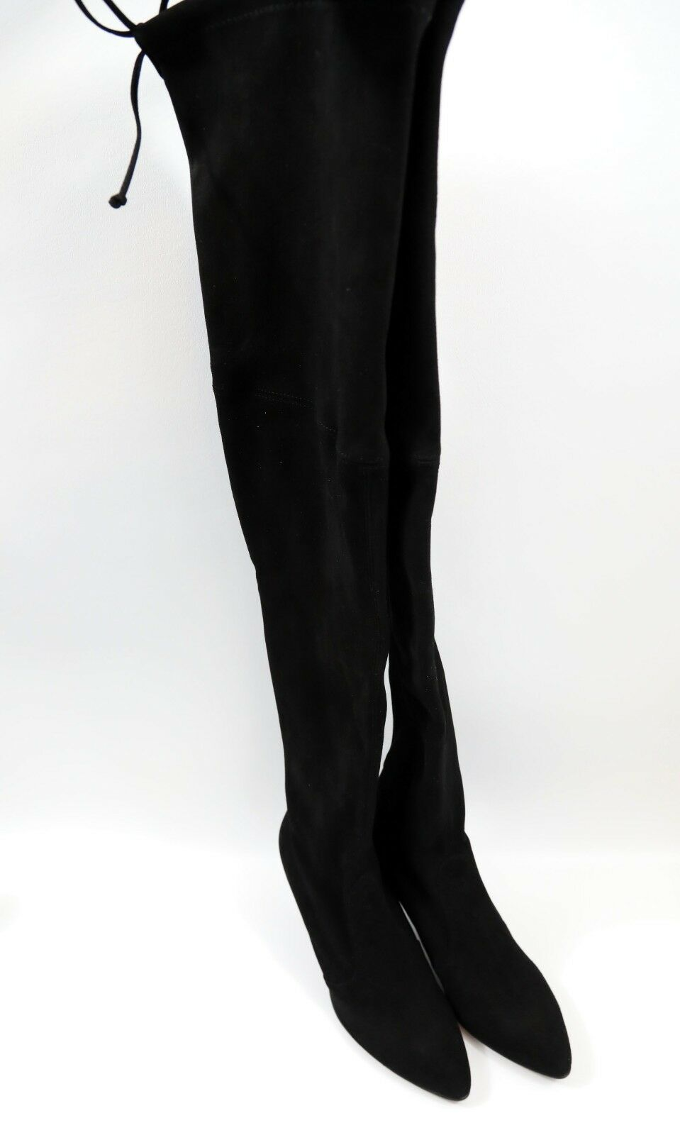 182 Stuart Weitzman Tiemodel Over-the-Knee Stretch Boot Size 10  RETAIL  798