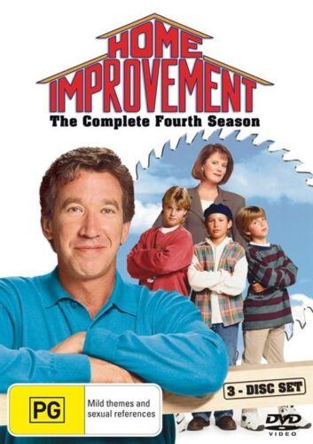 1 of 1 - HOME IMPROVEMENTS SEASON 4 DVD=3 DISC SET=REGION 4 AUSTRALIAN RELEASE=LIKE NEW