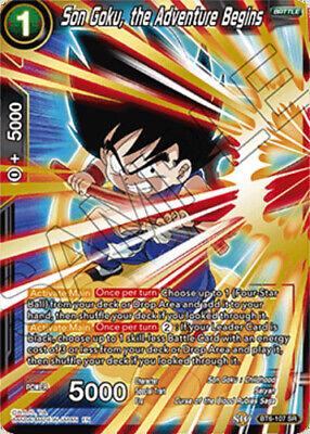 the Adventure Begins BT6-107 SR Near Mint 1 Son Goku