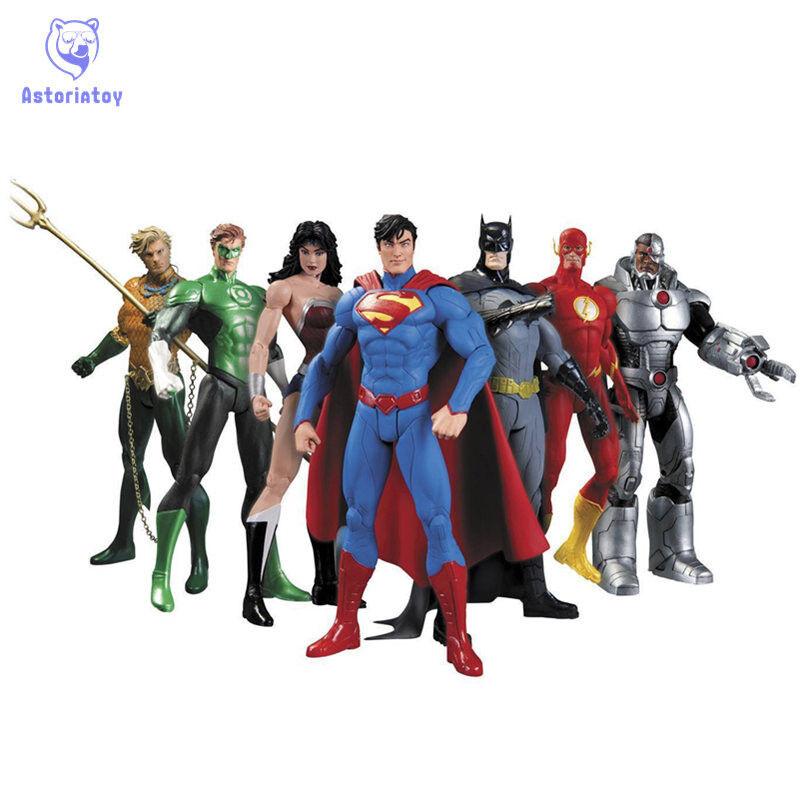 Avenger Super Hero Action Figure Marvel Figurine Super Man Batman Flash Wonder W