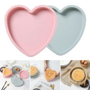 Cake-Mold-Silicone-Heart-Mousse-Bread-Pan-Bakeware-Mould-Baking-Tray-BPA-Free