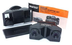 Asahi-Pentax-Stereo-Adapter-amp-Stereo-Viewer-II-fuer-49mm-Lens-vom-Haendler