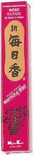 NIPPON KODO Morning Star - Encens Japonais - ROSE 50 bâtons + porte-encens