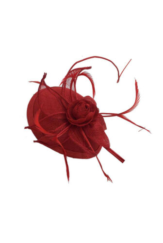 Finecy In-Mariage Royal Ascot races Sinamay femmes chapeau bandeau