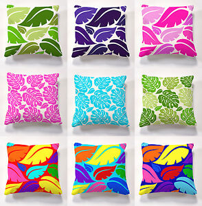 Printed cushions with cushion pad for indoors or outdoors garden seat cushions