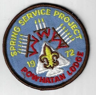 """OA Lodge 116 Santee J3 FDL; /""""60 years of Service 1938-1998/""""; ANN FL1122"""