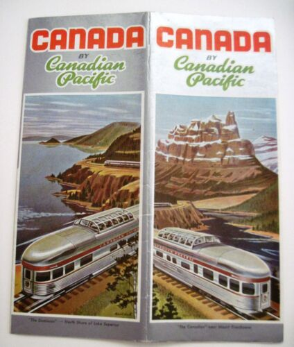"1955 ""Canada by Canadian Pacific"" w Lots of Colored Pictures"