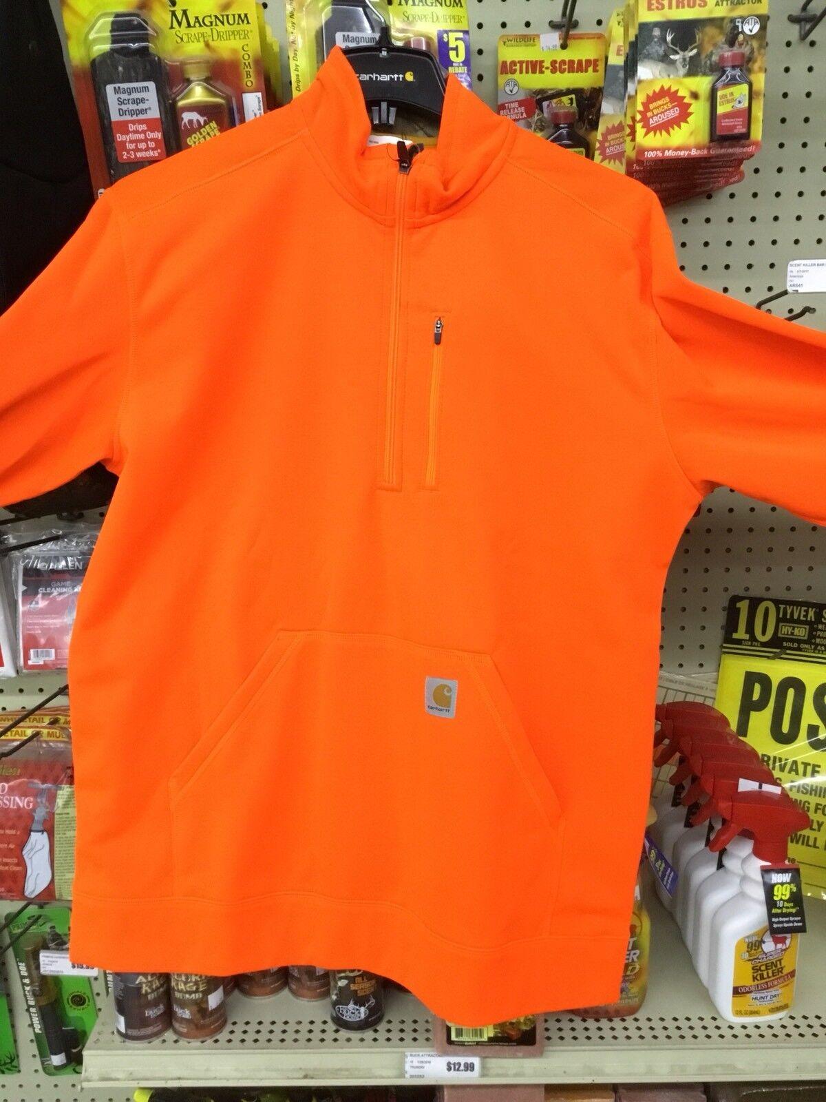 Carhartt 102831-822 Force Extremes Half-Zip Sweatshirt LRG