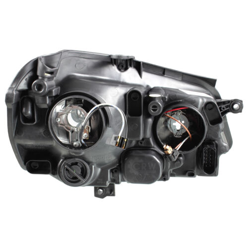 05-09 chrom H7//H1 inkl Stellmotoren Scheinwerfer Set Satz für VW Polo 9N3 Bj