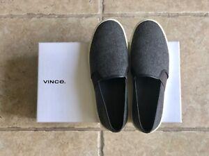 VINCE Preston Felt/Wool Slip-On