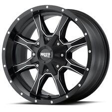 17 Inch Black Wheels Rims Chevy 2500 3500 Dodge Ram Ford Truck 8 Lug Moto Metal