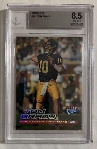 2000 Ultra Tom Brady #234 BGS 8.5. Patriots, Bucs, Wolverine. GOAT HOF New Slab