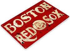 TIN SIGN Boston Red Sox Baseball Sports Fenway Park Décor Store Shop Bar A862