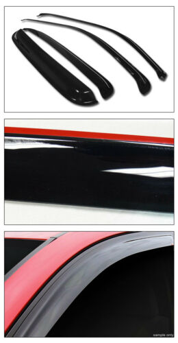 Smoke Topline 746756364682 Window Visors Rain Guard Vent Deflectors 4 Pieces