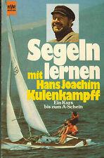 Segeln lernen mit Hans Joachim Kulenkampff, Segler Kuli aus Bremen, Heyne 1974
