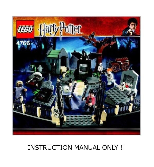 Instructions  for LEGO Set 4766 Graveyard Duel  - INSTRUCTION MANUAL ONLY