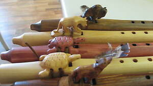 Native-American-Flutes-Jonah-Thompson-A-MINOR-w-flute-bag-Great-for-Beginners
