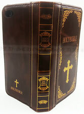 Holy Bible Book Design Antique Vintage Flip Wallet Case Cover For iPhone 6 6S
