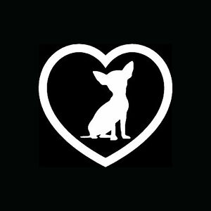 Chihuahua-Heart-Sticker-Car-Window-Vinyl-Decal-Dog-Breed-Lover-Puppy-Family-Cute