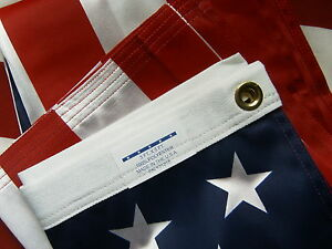 Valley-Forge-US-American-Flag-3-039-x5-039-ULTRA-KNIT-Nylon-Poly-100-Made-in-the-USA