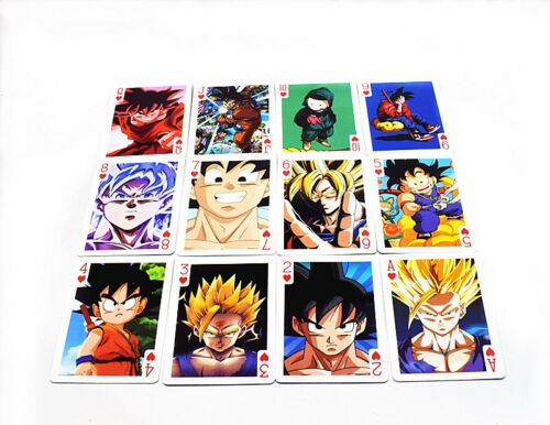 Anime Dragon Ball Z DBZ Playing Cards Deck Poker
