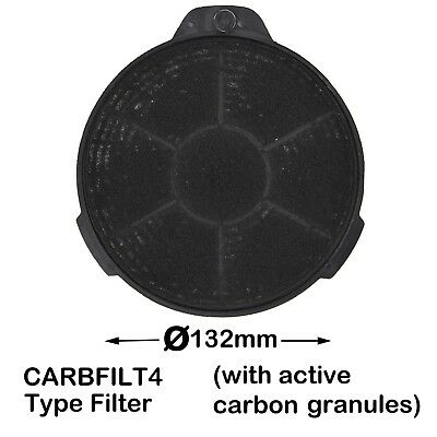 SPARES2GO SIA2 Type Active Carbon Odour /& Grease Filter for SIA Cooker Hood//Vent Extractor