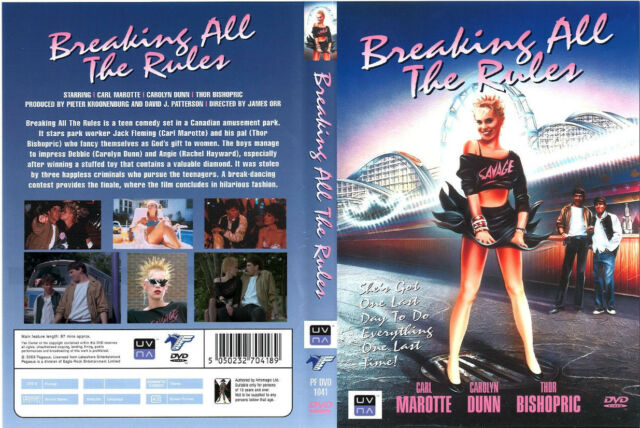 breaking all the rules dvd cult 80 s comedy 1985 r1 ebay