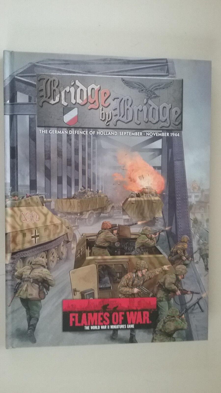 Die flammen des krieges - brücke von brücke - die deutsche Grüneidigung von holland (44   nov.