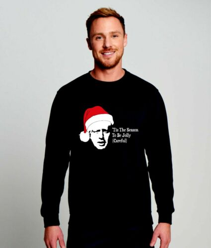 Attention Boris-Tis the Season to be Jolly Noël Pull Sweatshirt JH030