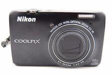 Nikon Coolpix S6300 16 MP 2.7″ screen 10× DIGITAL CAMERA