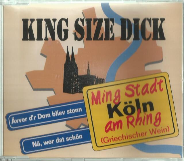 B -1 Maxi CD / King Size Dick / Ming Stadt Köln am Rhing ( Griechischer Wein )