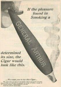 General Arthur Cigar 1899 Tobacco Vintage Print Ad