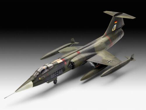 F-104g Starfighter Plastic Kit 1:72 Model REVELL