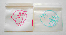 100 Mix Baggies (Boo & Kirby) Super Smash Brother, Rave Party Ziplock Dime Bags