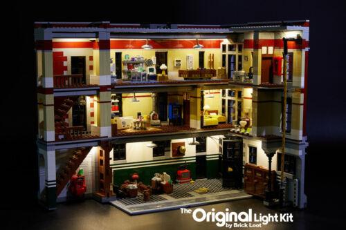 LED Lighting kit for LEGO ® Ghostbusters™ Firehouse Headquarters set 75827